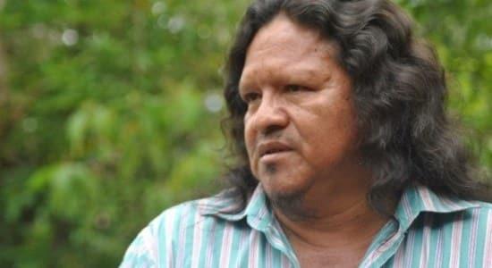 Sergio Rojas, defensor del territorio indígena. Fotografía de Surcos digital