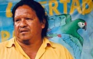 Líder Indígena Sergio Rojas.