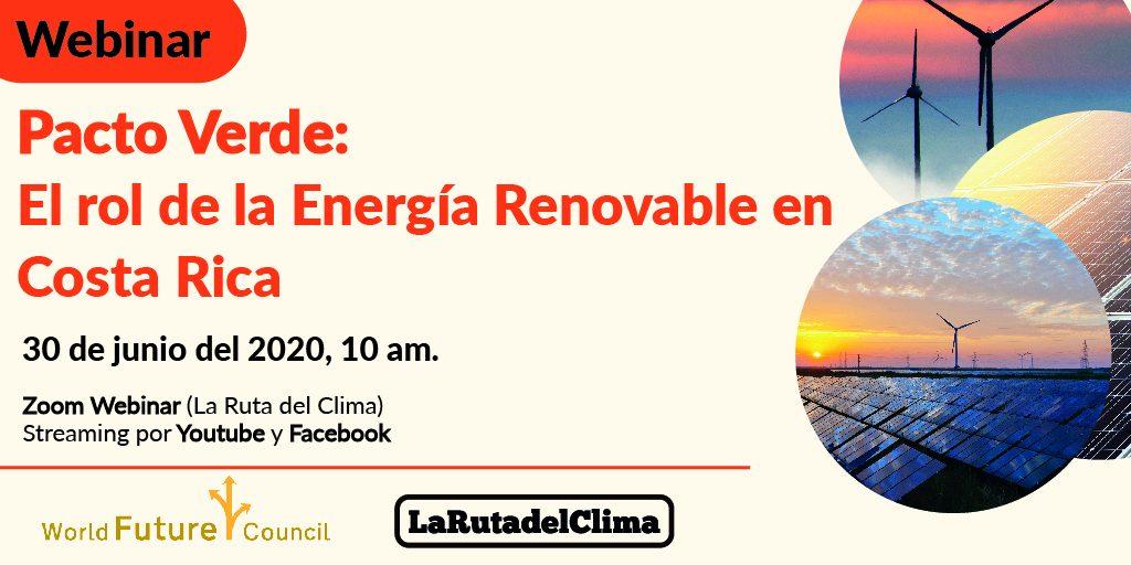 Webinar: El rol de la Energía Renovable en Costa Rica